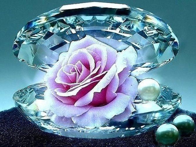 Открытки сверкающие бриллиантами, открытку днем