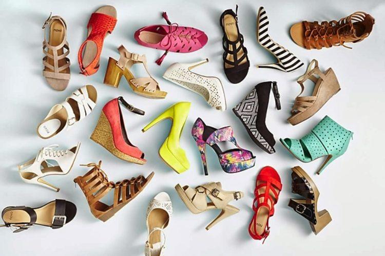 много туфель на одной картинке долгое время находился