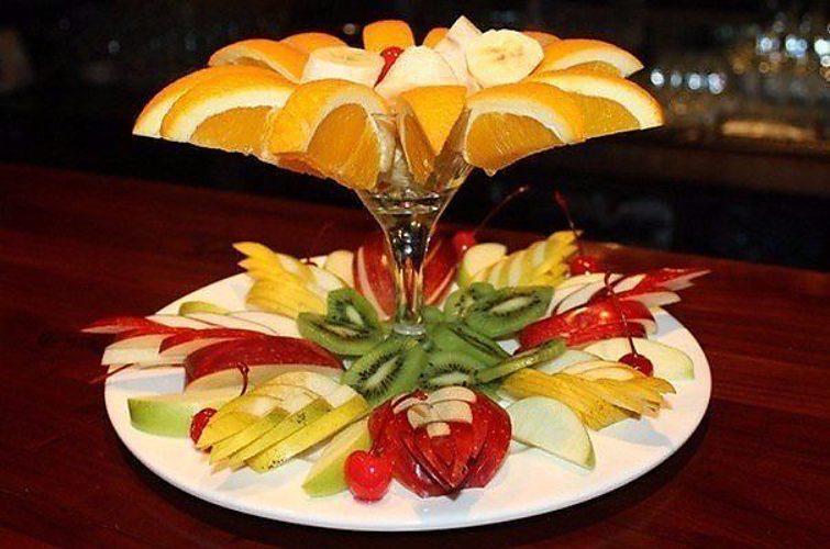 большую пикантность красивая подача фруктов на стол фото ароматизации помещениях ресторанов
