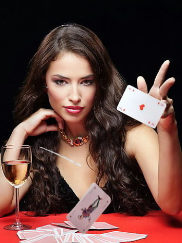 не играйте с женщиной в карты